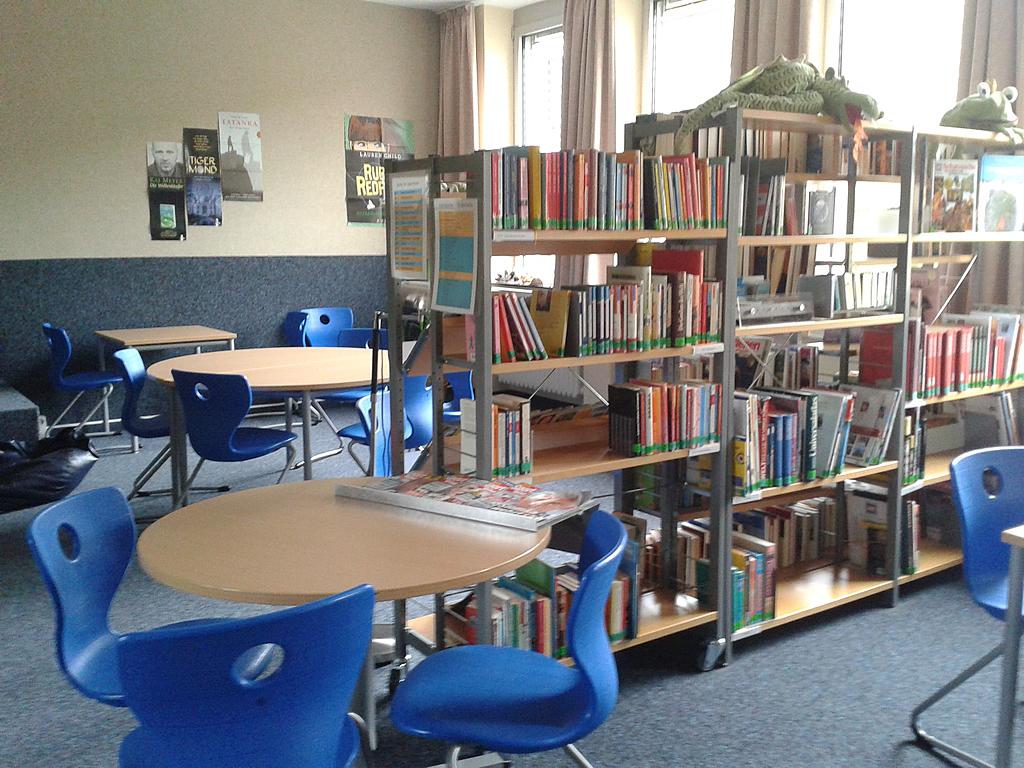 Unsere Schülerbücherei