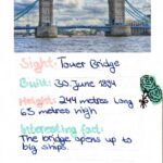 Fact cards - Sights of London